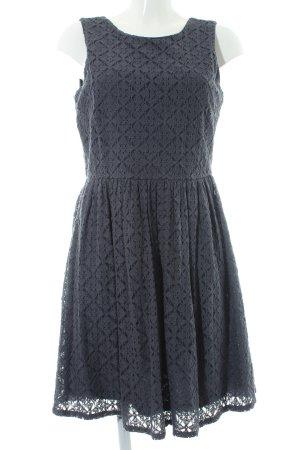 Vero Moda Abendkleid graublau florales Muster Casual-Look