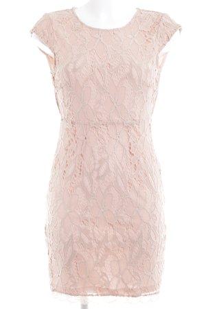 Vero Moda Abendkleid nude florales Muster Casual-Look