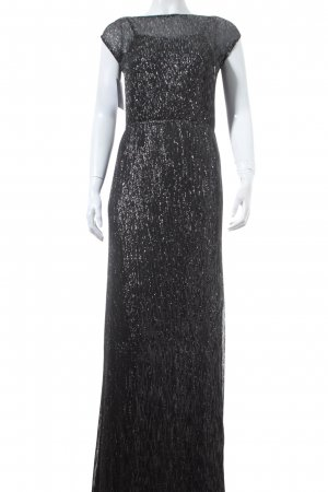 Vero Moda Evening Dress black-silver-colored party style