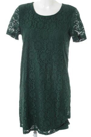 Vero Moda Abendkleid waldgrün Blumenmuster Elegant