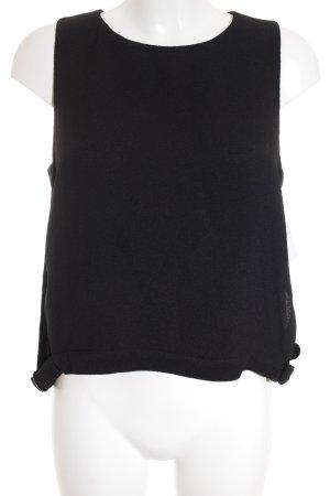 Vero Moda ärmellose Bluse schwarz Street-Fashion-Look