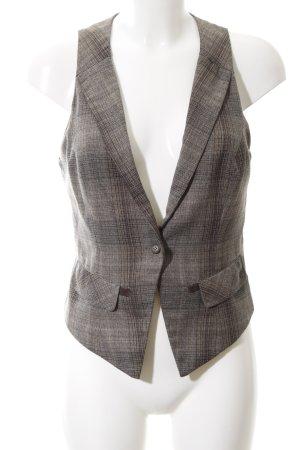 Vero Moda Gilet de costume gris clair-brun imprimé allover style décontracté