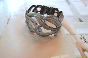 Vero Moda Armreif Silber Metall Federschließe NEU