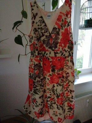 Vero Moda Off the shoulder jurk veelkleurig
