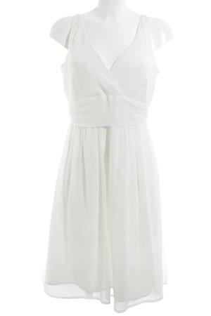 Vero Moda Robe Babydoll blanc Look de plage