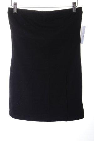 Vero Moda Bandeautop schwarz schlichter Stil