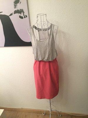 Vero moda Basic Kleid, grau pink , 40