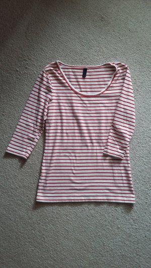 Vero Moda basic shirt Größe s, rot/weiß geringelt