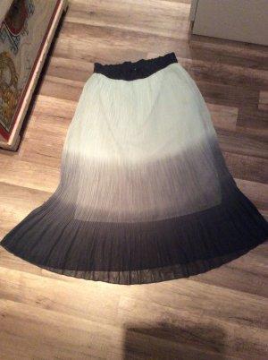 Vero Moda Pleated Skirt light blue-blue polyester