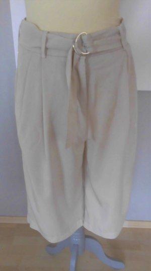 Vero Moda – beige Hose - weites Bein - knielänge– NP 39 EUR