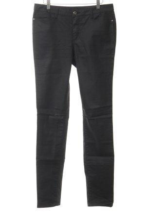 Vero Moda Jeans da motociclista nero Paris-Look