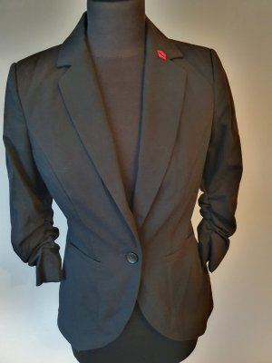 Vero Moda Unisex Blazer black polyester