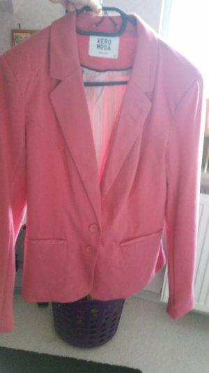 vero moda blazer in pink 40