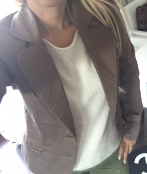Vero Moda Blazer nougat braun Gr. 36 S Damen Jacke