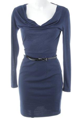 Vero Moda Bleistiftkleid dunkelblau-schwarz Business-Look