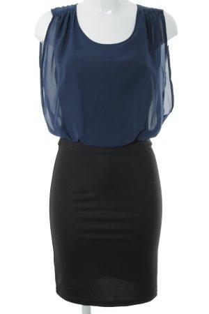 Vero Moda Bleistiftkleid schwarz-dunkelblau Party-Look