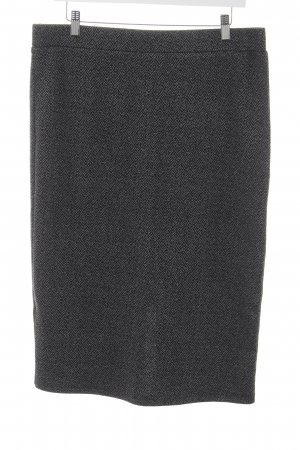 Vero Moda Bleistiftrock schwarz-grau Zackenmuster Business-Look