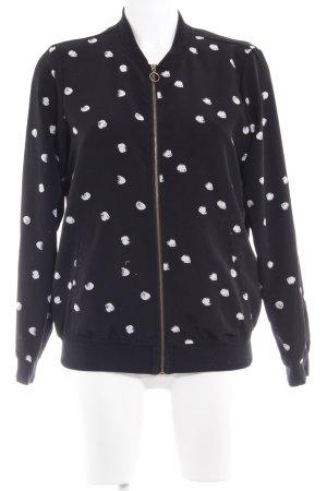 Vero Moda Blouson black spot pattern classic style