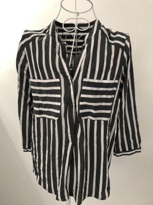 Vero Moda Slip-over blouse grijs-wit