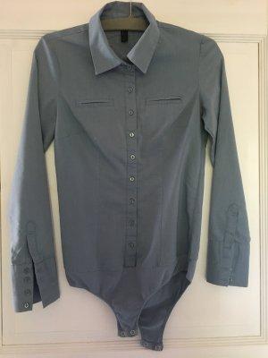 Vero Moda Bluse / Body hellblau Gr. S