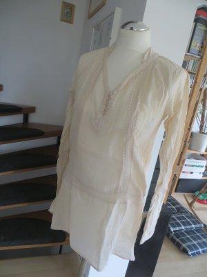 Vero Moda Bluse Boho Tunika romantisch offwhite Gr.M 38 40