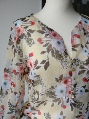 Vero Moda Bluse Floral Boho Hippie Loop