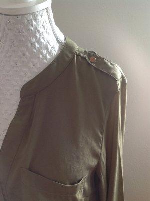Vero Moda Bluse Gr. L olivgrün