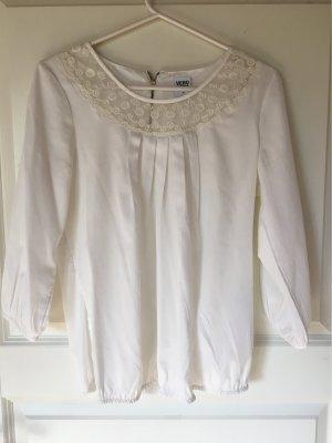 Vero Moda Kanten blouse wolwit