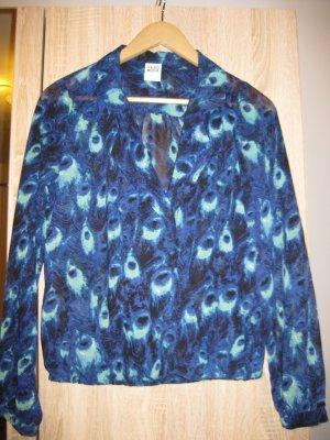 Vero Moda Bluse in Blautönen