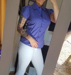 Vero Moda Bluse lila S 36 tailliert Shirt Top