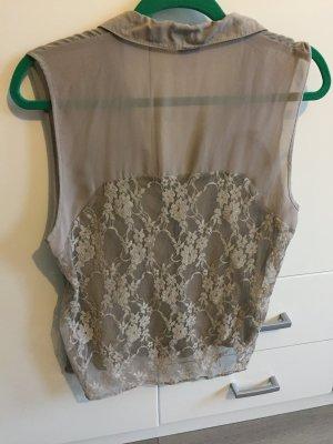 Vero Moda Bluse mit Spitze am Rücken