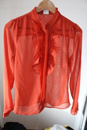 Vero Moda Bluse S 36 38 Rüschen wie NEU
