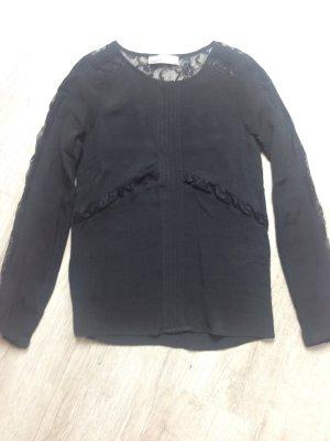 Vero Moda Bluse schwarz, Spitze