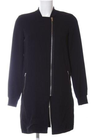 Vero Moda Blusenjacke schwarz Casual-Look