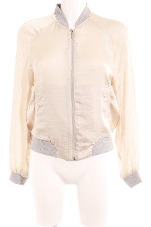 Vero Moda Blouse Jacket oatmeal-light grey casual look