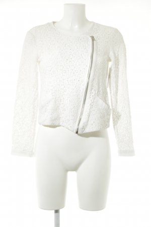 Vero Moda Blouse Jacket natural white floral pattern casual look