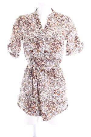 Vero Moda Blusenkleid Allover-Druck Casual-Look