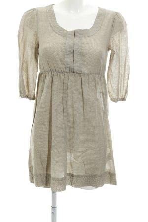Vero Moda Blusenkleid beige schlichter Stil