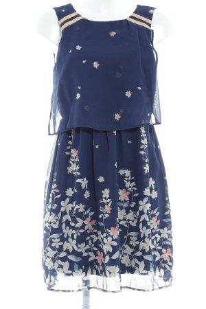 Vero Moda Blusenkleid Blumenmuster Logostickerei