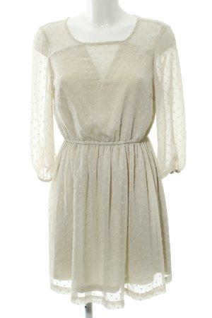 Vero Moda Blusenkleid hellbeige Elegant