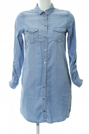 Vero Moda Blusenkleid himmelblau meliert Casual-Look