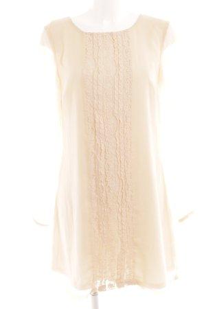 Vero Moda Blusenkleid nude Romantik-Look