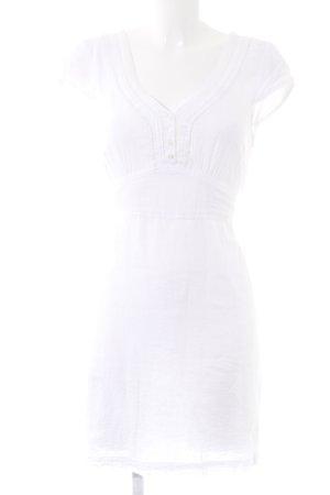 Vero Moda Blusenkleid wollweiß Elegant