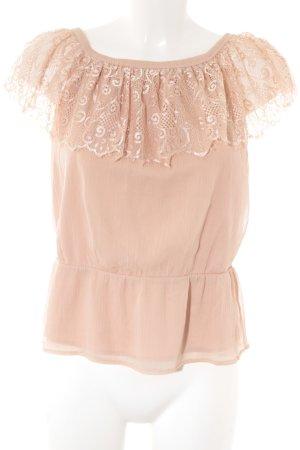 Vero Moda Blusa rosa antico elegante