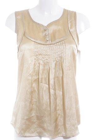 Vero Moda Blusa oro effetto bagnato