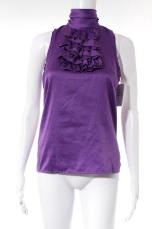 Vero Moda Blusa lilla effetto bagnato