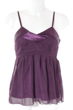 Vero Moda Blusentop violett Elegant