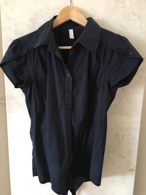 *Vero Moda* Body-Bluse in dunkelblau