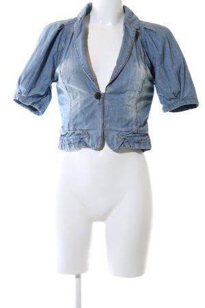 Vero Moda Bolero blau Casual-Look