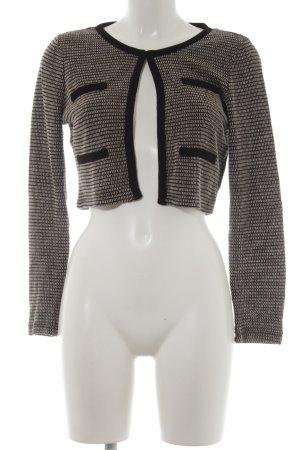 Vero Moda Bolero nero-bianco sporco stile casual